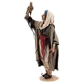 Falconer statue, 30 cm Angela Tripi nativity s3