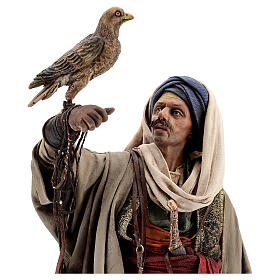 Falconer statue, 30 cm Angela Tripi nativity s4