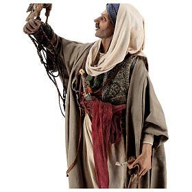 Falconer statue, 30 cm Angela Tripi nativity s6