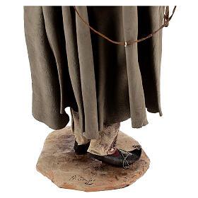 Falconer statue, 30 cm Angela Tripi nativity s9