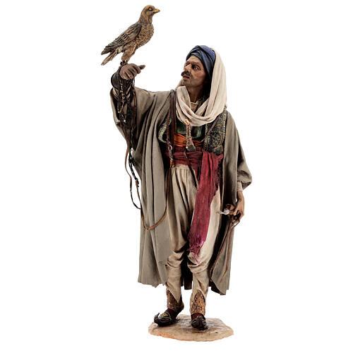 Falconer statue, 30 cm Angela Tripi nativity 1