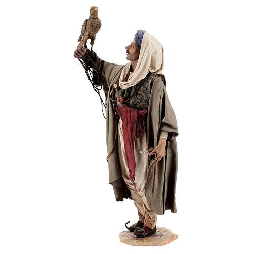 Falconer statue, 30 cm Angela Tripi nativity 3