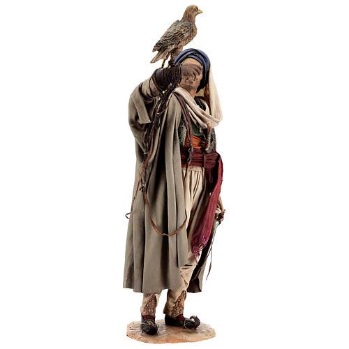 Falconer statue, 30 cm Angela Tripi nativity 5