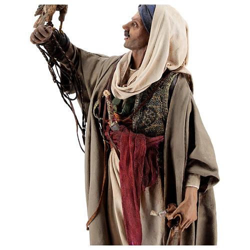 Falconer statue, 30 cm Angela Tripi nativity 6