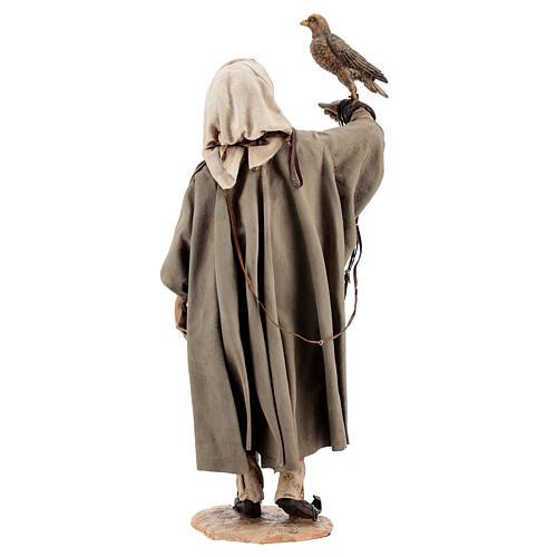 Falconer statue, 30 cm Angela Tripi nativity 8