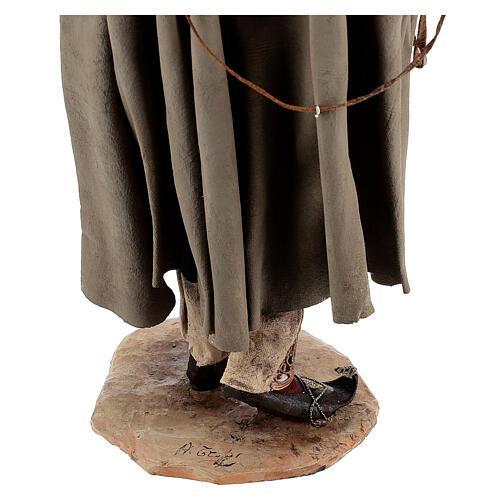 Falconer statue, 30 cm Angela Tripi nativity 9