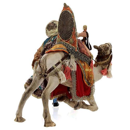 Magi coming down from camel, 13 cm Tripi nativity 8