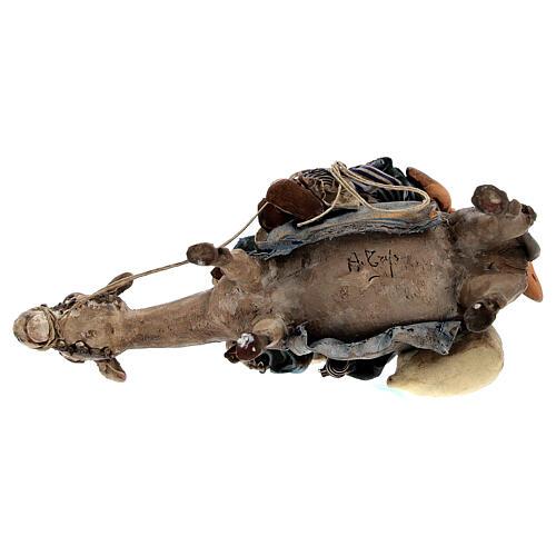 Femme maure avec enfant et âne 13 cm crèche Tripi 8