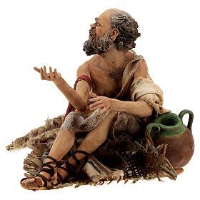 Cripple beggar 18 cm, Angela Tripi nativity s3
