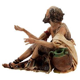 Cripple beggar 18 cm, Angela Tripi nativity s4