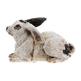 Coniglio per presepe 13 cm, Angela Tripi s1