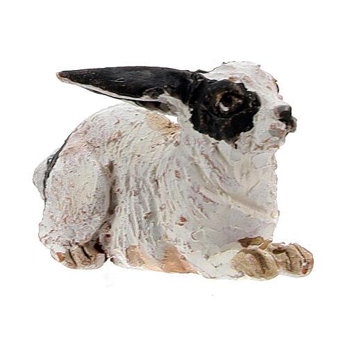 Rabbit figurine for 13 cm nativity, Angela Tripi 3