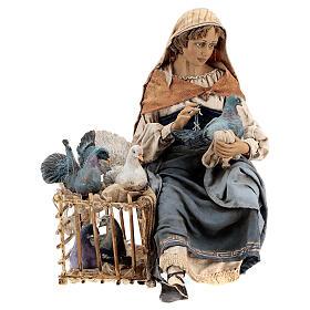 Donna con colombe 30 cm, Tripi s1