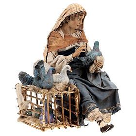 Donna con colombe 30 cm, Tripi s5