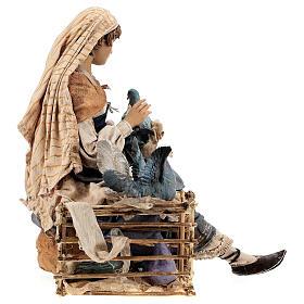Donna con colombe 30 cm, Tripi s8