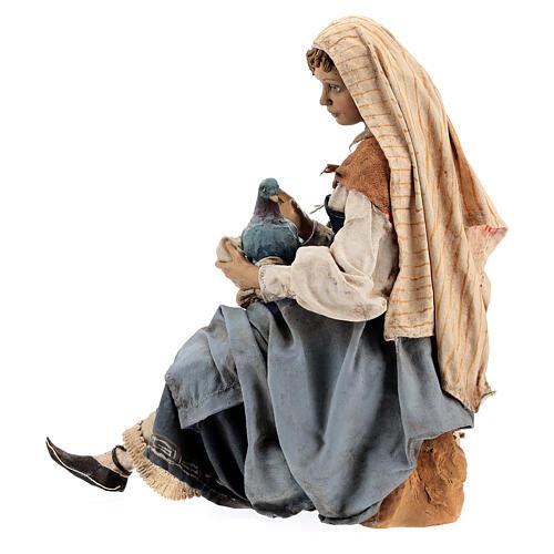 Donna con colombe 30 cm, Tripi 7