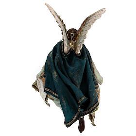 Voyageur mouton sur les épaules crèche 18 cm Angela Tripi s11