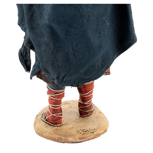 Wanderer with sheep on shoulders, 18 cm Tripi nativity 6
