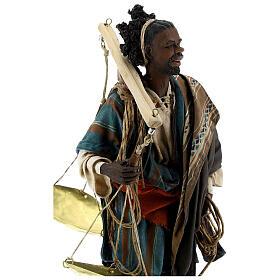 Moor slave with scale Angela Tripi Nativity Scene 30 cm s4