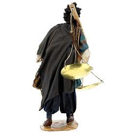 Moor slave with scale Angela Tripi Nativity Scene 30 cm s6