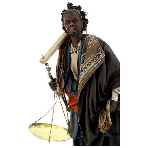 Moor slave with scale Angela Tripi Nativity Scene 30 cm 2