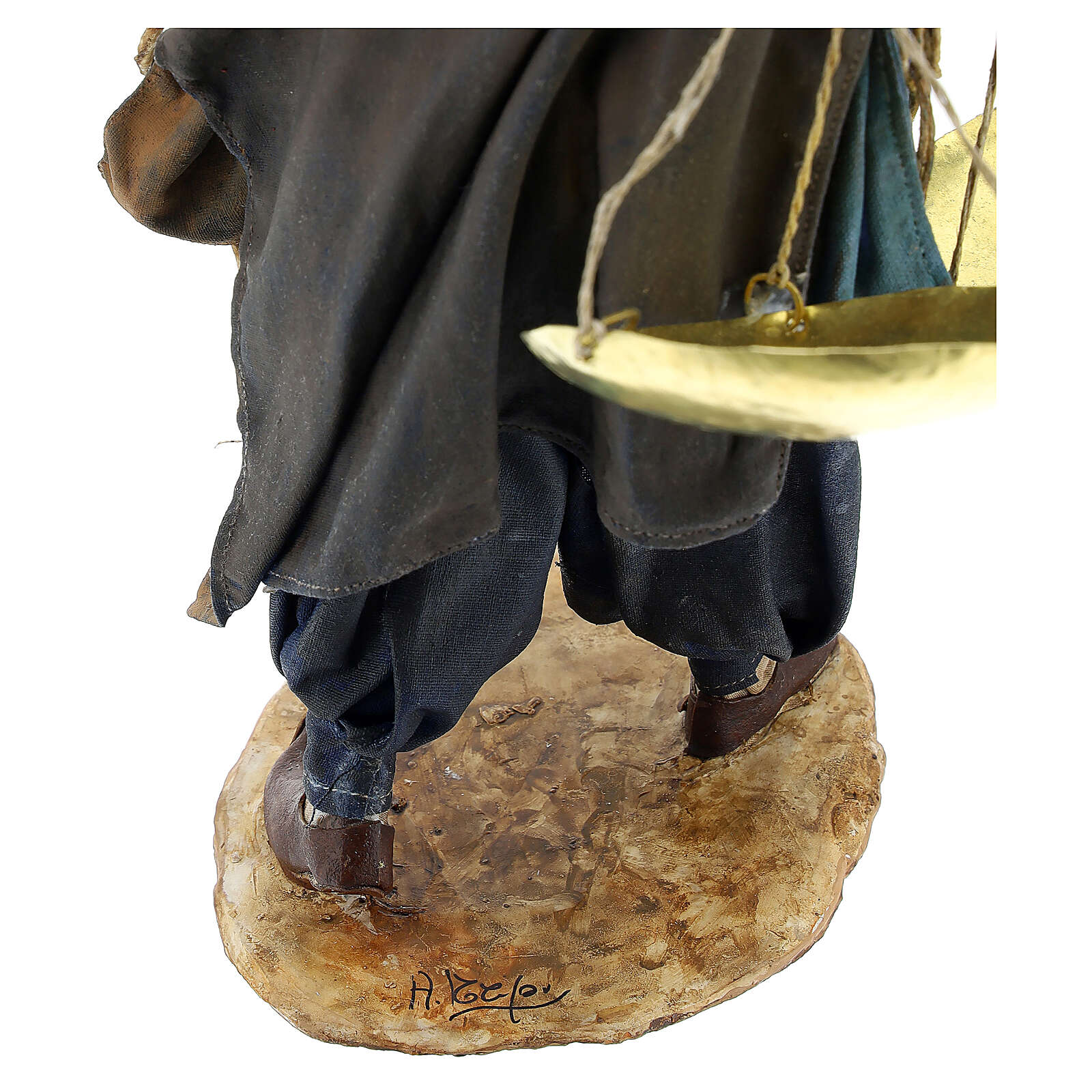 Moor slave with scale 30 cm Tripi 4