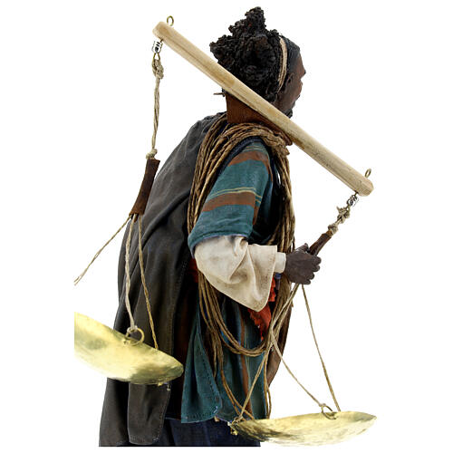 Moor slave with scale 30 cm Tripi 8