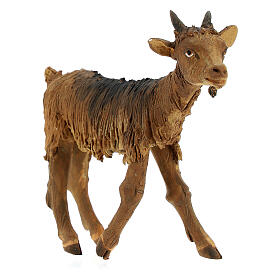 Goat statue 18 cm Angela Tripi terracotta s3