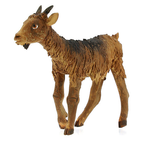 Goat statue 18 cm Angela Tripi terracotta 2