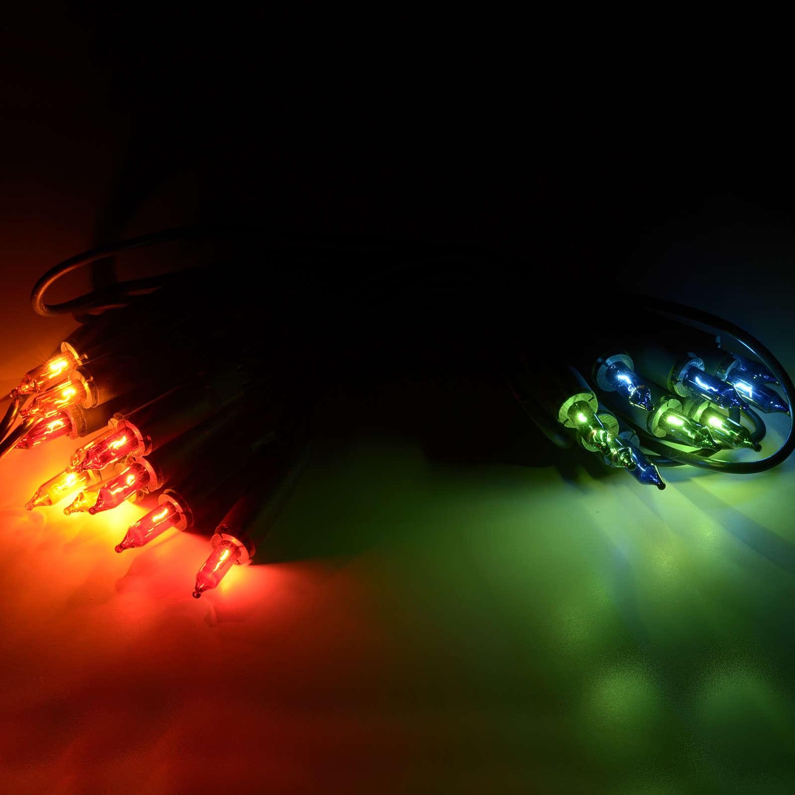 Luce di Natale 20 pisellini multicolor 3