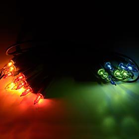Luce di Natale 20 pisellini multicolor s2