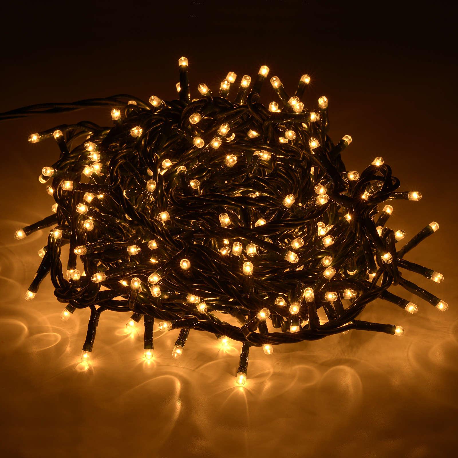 Luce natalizia 300 minilucciole chiare per interno 3