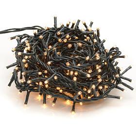 Luce natalizia 300 minilucciole chiare per interno s1