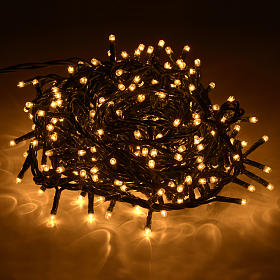 Luce natalizia 300 minilucciole chiare per interno s2