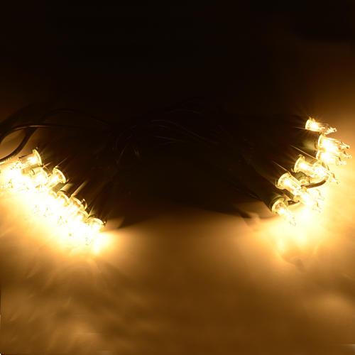Luce di Natale 20 pisellini chiari 2