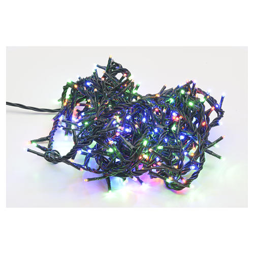 Luce di Natale 300 miniled multicolor per interno 1