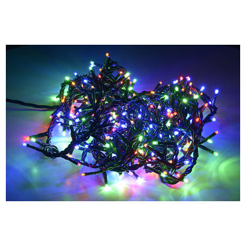 Luce di Natale 300 miniled multicolor per interno 2
