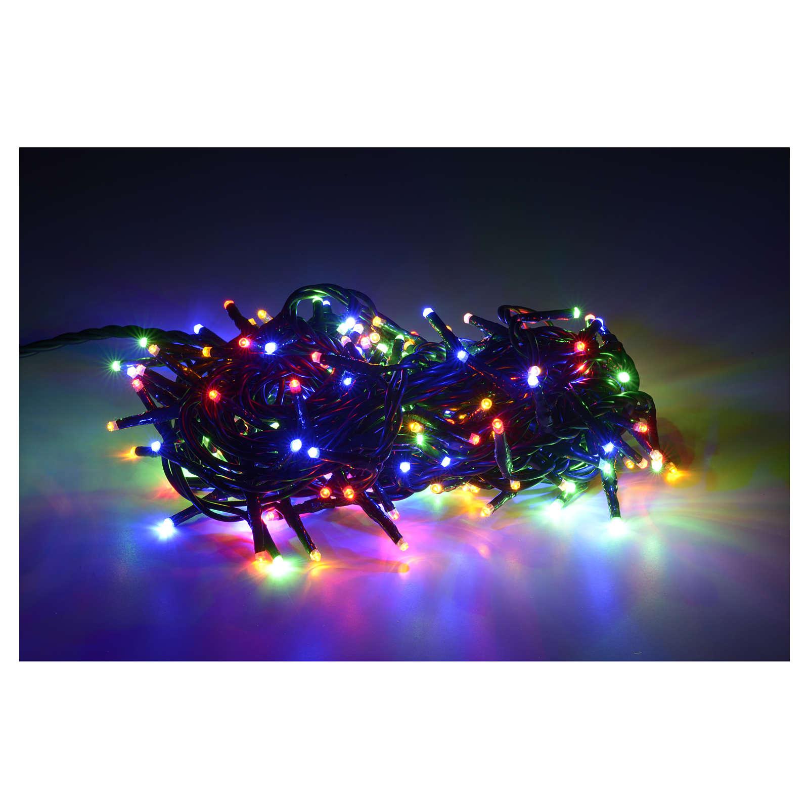 Luce di Natale 180 miniled multicolor per interno 3