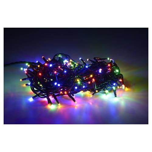 Luce di Natale 180 miniled multicolor per interno 2