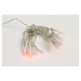 Fairy lights 20 red LED lights, for indoor use s1