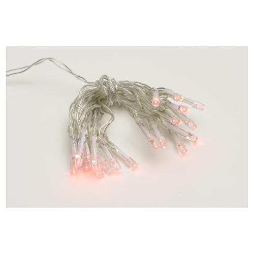 Fairy lights 20 red LED lights, for indoor use 1