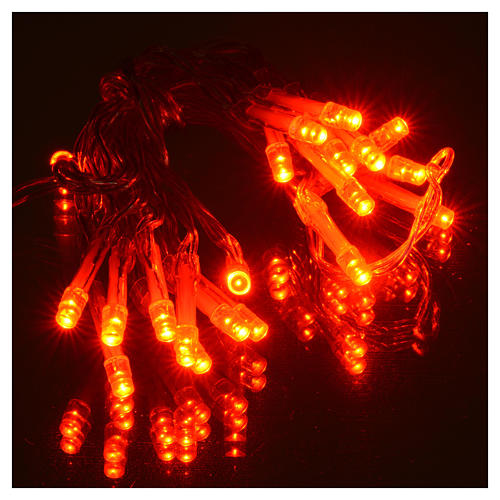 Fairy lights 20 red LED lights, for indoor use 5
