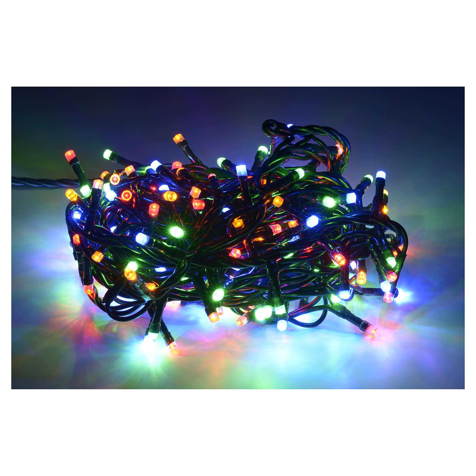 Luce natalizia 180 led multicolor per interni 3