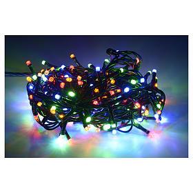 Luce natalizia 180 led multicolor per interni s2