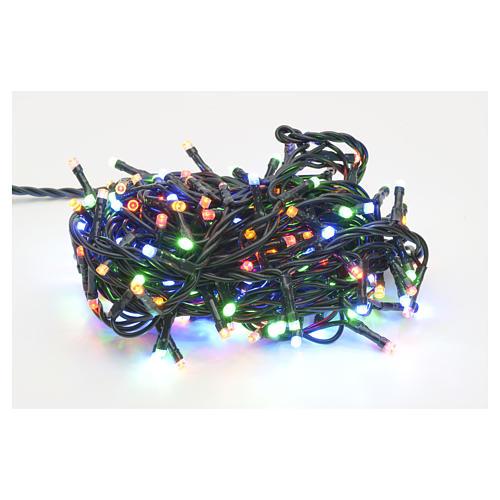 Luce natalizia 180 led multicolor per interni 1