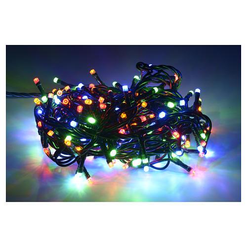Luce natalizia 180 led multicolor per interni 2