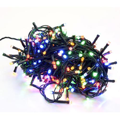 Luce di Natale 300 led multicolor per esterno 1
