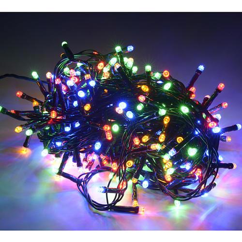 Luce di Natale 300 led multicolor per esterno 2