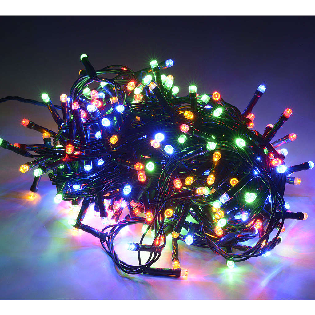 Fairy lights 300 LED, multicoloured, for outdoor use 3
