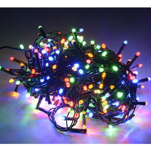 Fairy lights 300 LED, multicoloured, for outdoor use 2